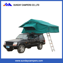 Best car roof top tent with swing out awning & side awning