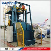 QR3210 rubber belt model clean shot blasting equipment & machine