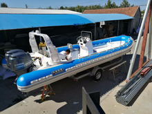 big RIB boat luxury fiberglass infaltable boat 8.5m boat