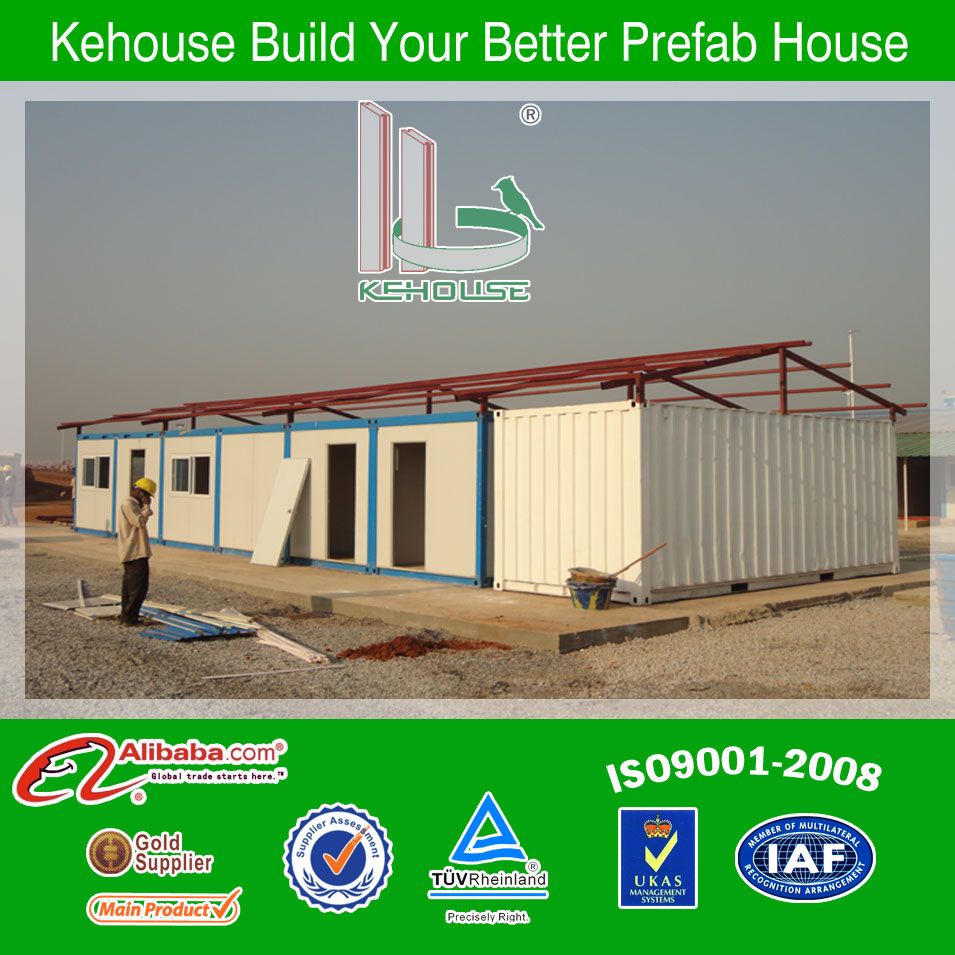 Sloping roof Container Mobile Slaughter House
