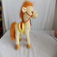 30cm Cheap price better design plush electric horse toy with wings