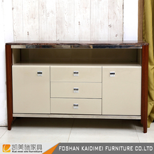 Cheap price MDF kitchen cabinet with drawer