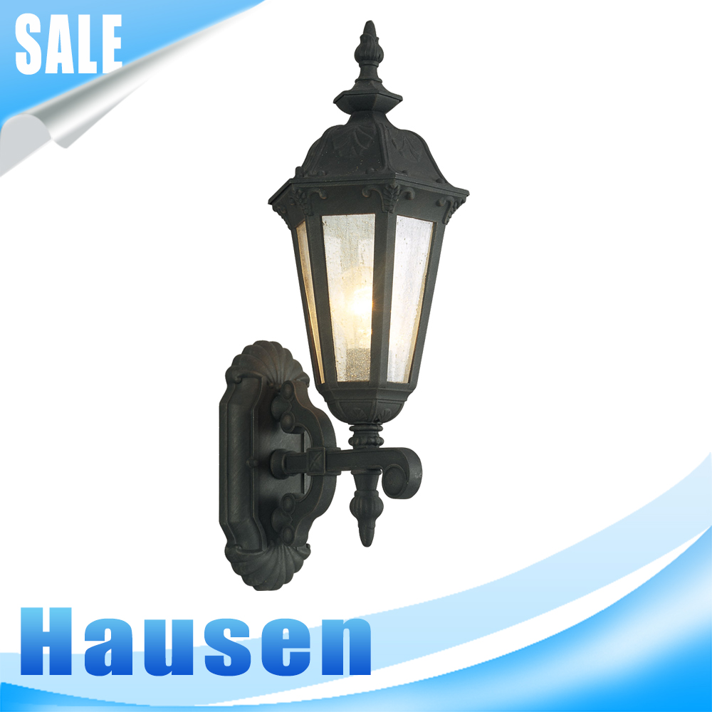 Barrie Outdoor Wall Lantern, 100 Watts, Black