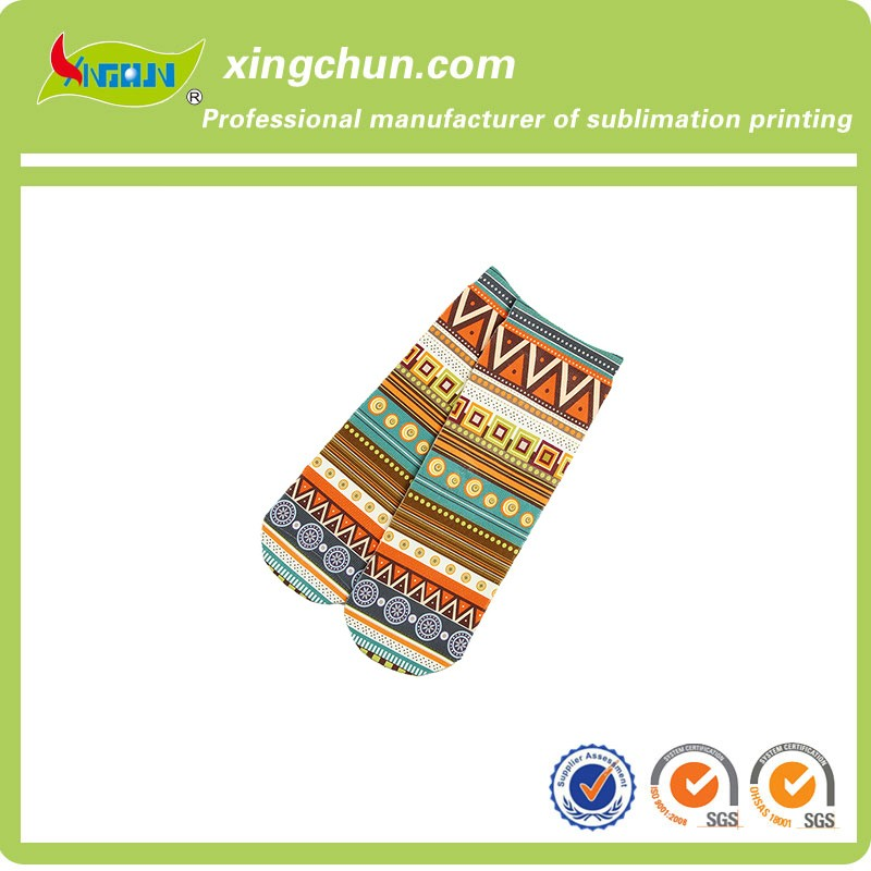 Cheap custom casual ankle socks
