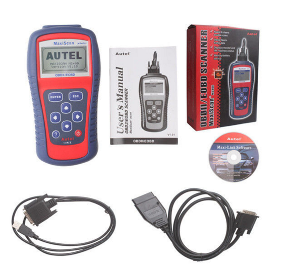 Electrical System Diagnosis Autel Diagnostic Tools Autel Diagnostic Tools MaxiScan MS409 OBD II/EOBD Scanner With LCD Screen