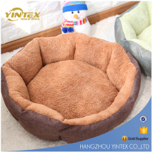 Wholesale premium quality plush fleece fabric pet dog bed