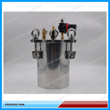 5L Chinese Manufacturer Stainless Steel Glue Dispensing Pressure Tank/Pressure Container