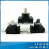 2014 newly High Quality Latching Led Push Button Switch for vacuum sweeper