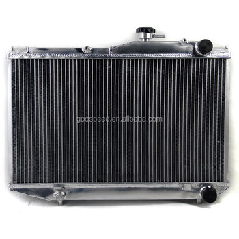 Aluminum racing radiator for Toyota Corolla AE86 83-87