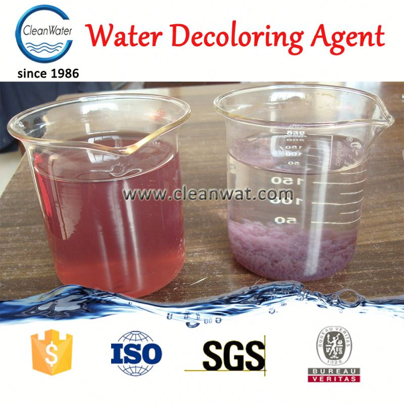 Cleanwater CW-08 Waste Water Decolourize Agent <strong>color</strong> <strong>removal</strong>