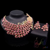 fashion indian bridal jewelry sets red stone nigerian coral beads jewelry set wedding east indian wedding jewelry
