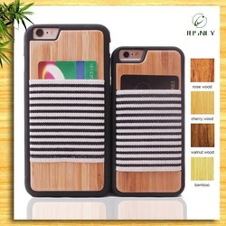 cell phone accessory wholesale los angeles for iphone 6 wood case with factory price