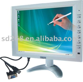 "cheap 10 "" usb powered touch screen monitor"