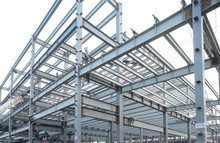 High - rise and wide span prefabricated steel structure building