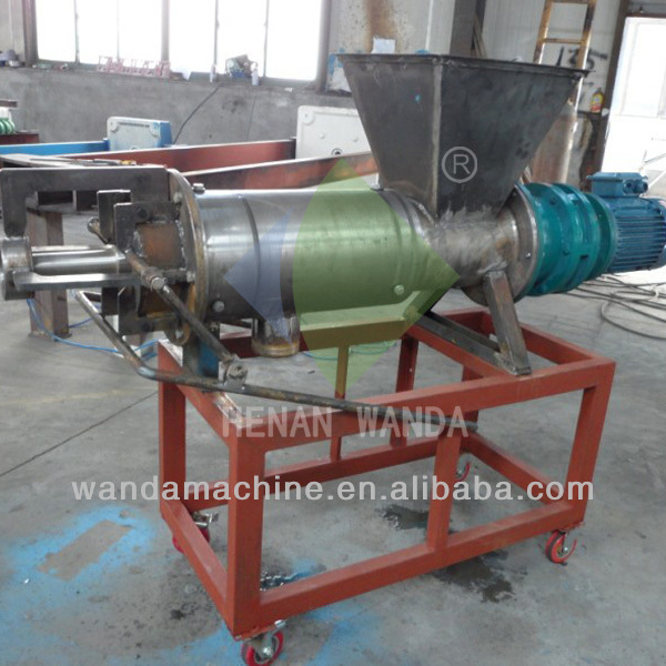 Chicken manure rotary vacuum dryer