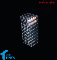 China supplier cheap clear mac cosmetic 40 lipstick holders storage containers for sale