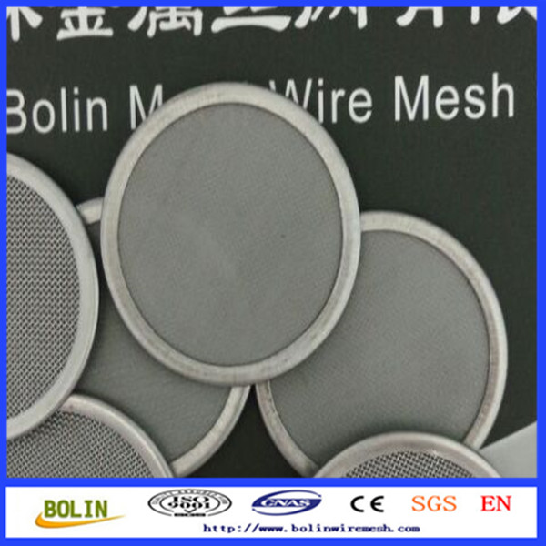 25 120 325 400 Mesh Stainless Steel Fabric Micron Mesh Coffee Filter/Coffee Filter Disc For Aeropress Coffee Maker