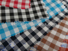 cool fashion100% cotton 40s yarn dyed shirting fabric