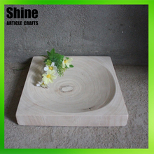 Best selling new products handicraft small serving wooden tray