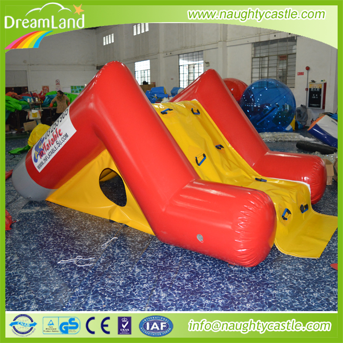 Inflatable swimming pool slide/small kids water slide for fun