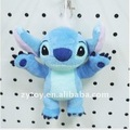 Plush cheap promotion key chain toy