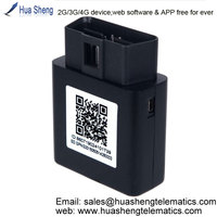 mini obd gps tracker vehicle rastreador [2G, 3G, 4G] plug-and-play