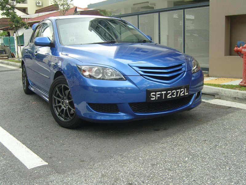 mazda 3 gt 1 6a deportes 2004 azul coches de segunda mano identificaci n del producto. Black Bedroom Furniture Sets. Home Design Ideas