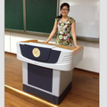 Focus FK530 multimedia electronic steel and plastic podium for education