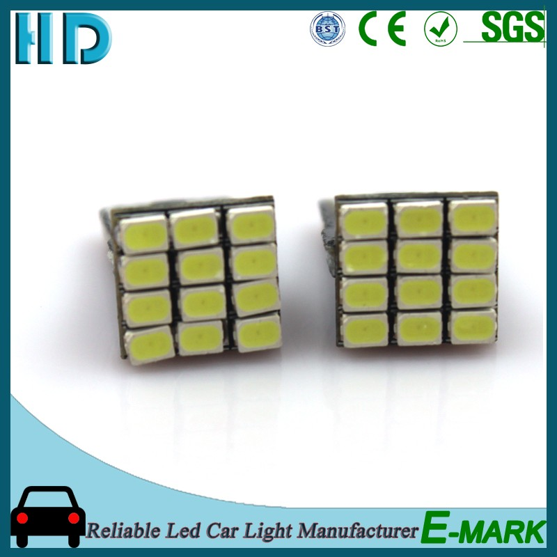 T10 SMD 3020 12led lamp bulb light for car vehicle automobile