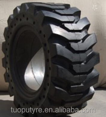 brand new solid bobcat 10-16.5 31x10-16 skidsteer tires