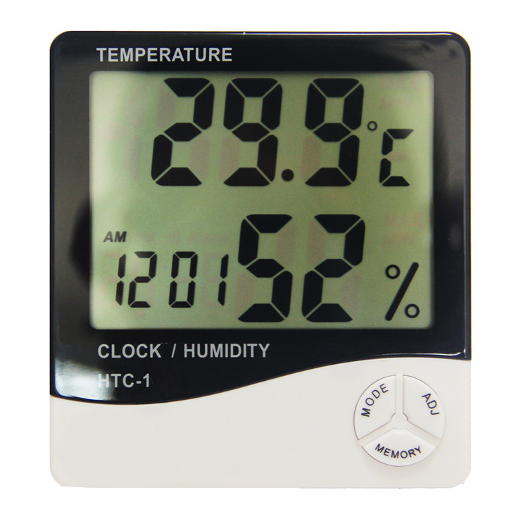 OEM digital cold room indoor humidity monitor thermometer