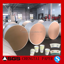 CHENGTAI pe coated paper in roll wholesale