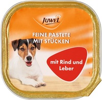Juwel dog paste - Beef & Liver
