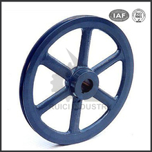 china rubber coated cast iron casting handwheel