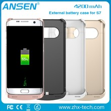 poron sample display 2016 New arrival OEM fashionable phone case free for mobile Samsung S7 high capacity power case from Ansen