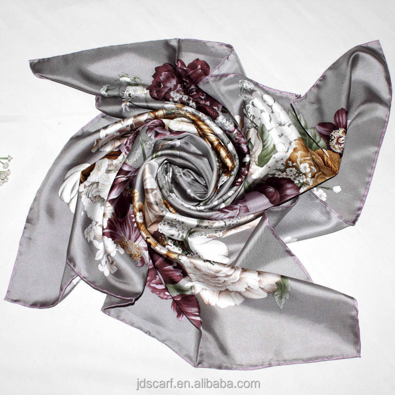 silk scarfs made in india 100% silk scarves SYSX-x011# scarves