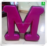 New Fashion Plastic Factory Customized Advertising Product Sign Board For Outdoor Store Decoration