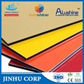 Exterior/Interior wall 4mm PVDF aluminum composite panel