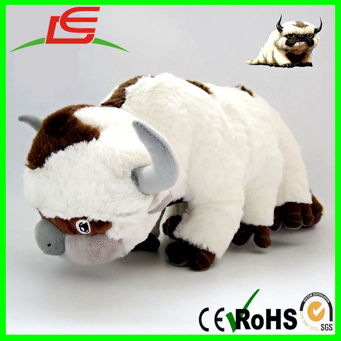 45CM Kawaii Large Soft Kids Stuffed Animal Plush Doll APPA Cow Toy