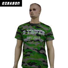 Man original printed t-shirt all over sublimation camo printing t-shirt