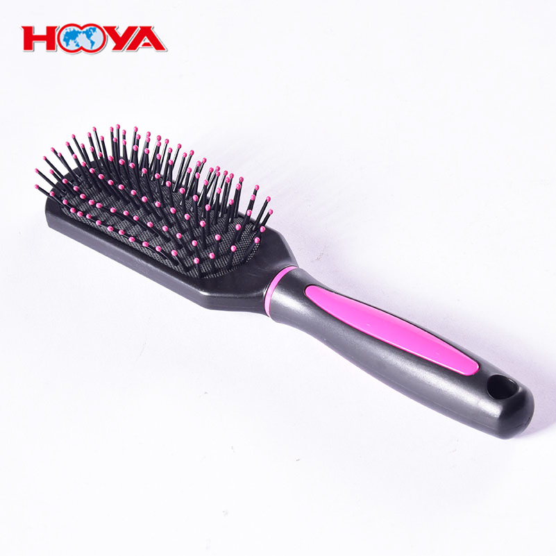 Wholesale Salon custom hair extension brush personalized hair detangler brush