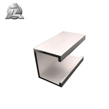 2017 new product thin wall silver 2 inch aluminum c channel