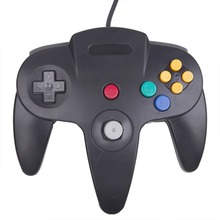 Classic N64 Wired Controller Long Handle Joystick Gamepad for Nintendo Console