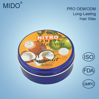 popular 2016 hot sell high quality hair styling wax,fruit mix box Nitro Canada hair wax with low price