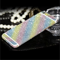 Bling Diamond Glitter Sticker Skin Cover Full Body Sticker Decal For IPhone 5 5s