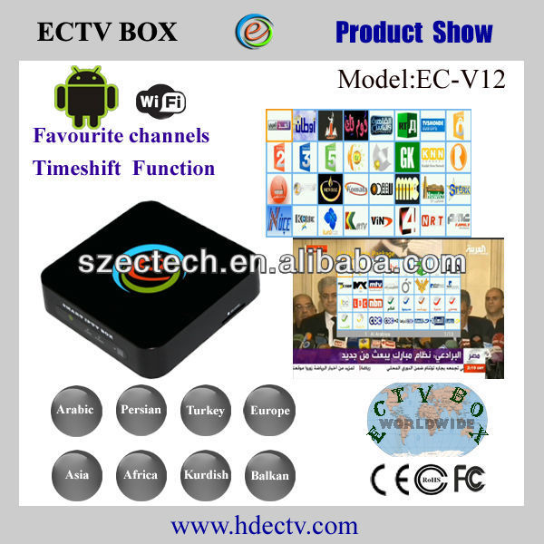 Europe iptv box watch europe channels from ectv box