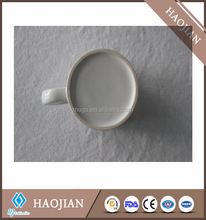 2017 hot new products sublimation blanks white ceramic coffee mug