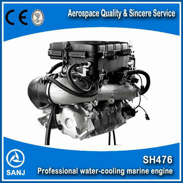 Inboard boat Engine for jet boat engine jet pump water jet motor 1100-1800cc engine capacity