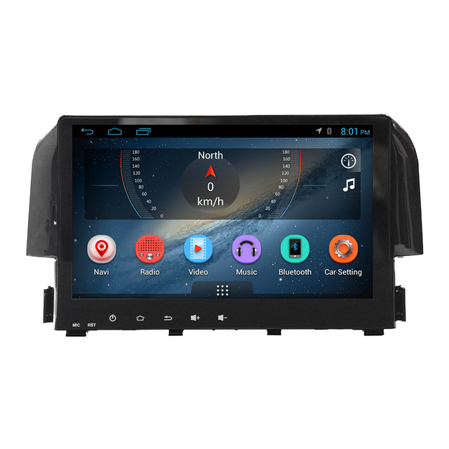gps navigation radio car dvd android GPS car stereo systems for Honda Civic 2017