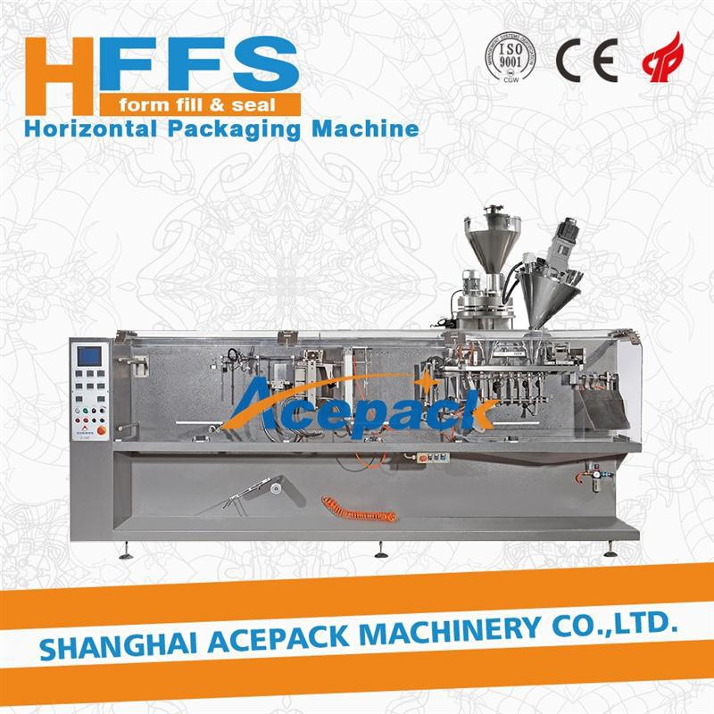 HFFS packing machine distributor for 4 side seal sachet